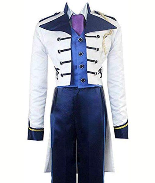 Santino Fontana White Tail Coat