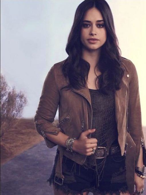 Jeanine Mason Brown Leather Jacket
