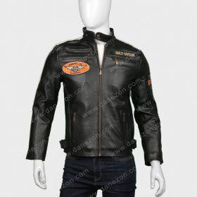 Harley Davidson Command Mens Leather Jacket