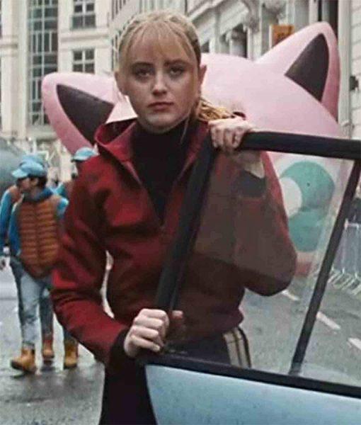 Lucy Stevens Hodded Jacket