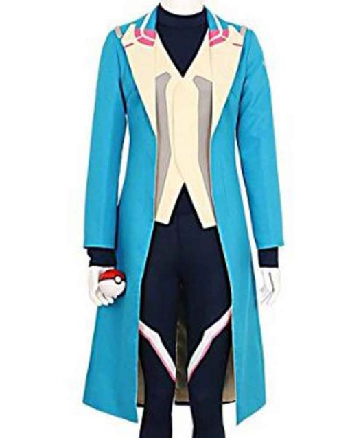 Pokemon Go Blue Trench Blanche Team Mystic Coat