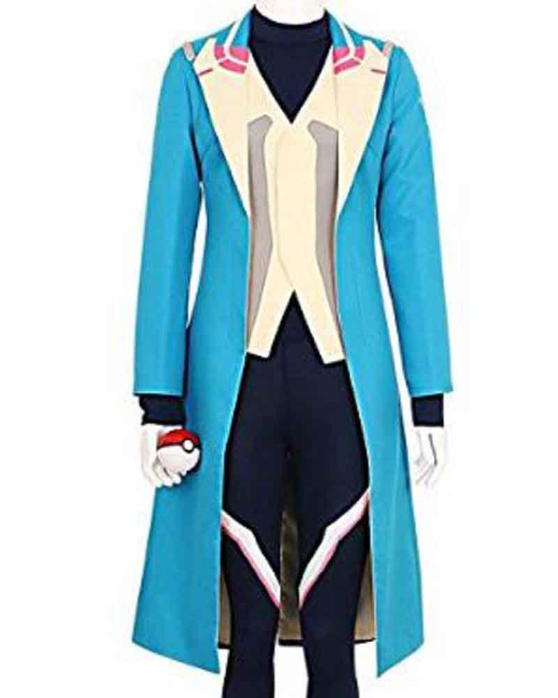 Pokemon Go Blue Trench Blanche Team Mystic Coat