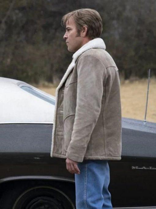 Stephen Dorff: Suede Leather Jacket