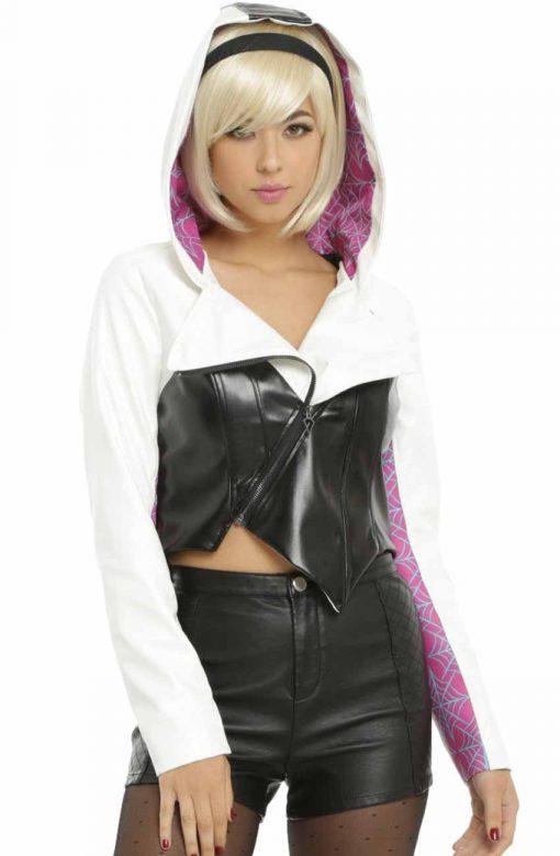 Spider Gwen Hoodie Jacket