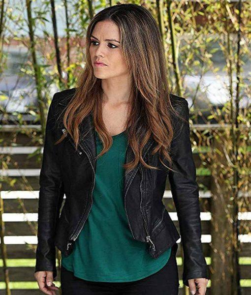Swift TV series Take Two Sam Biker Jacket