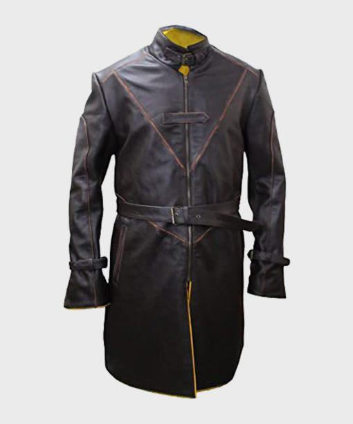 Noam Jenkins Watch Dogs 2 Leather Coat