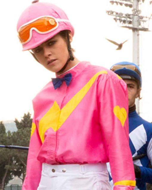 Kristen Stewart Charlie's Angels Sabina Wilson Pink Jacket