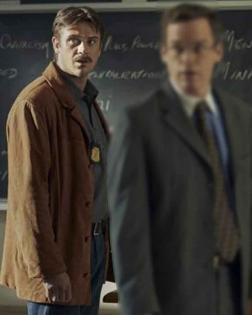 In the Shadow of the Moon Boyd Holbrook Locke Brown Jacket