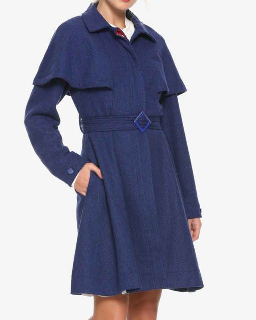 Mary Poppins Return Corduroy Mary Poppins Coat