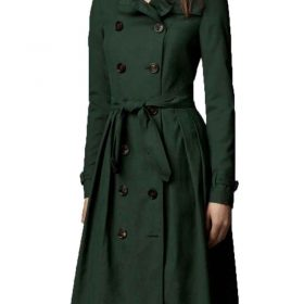 Mission Impossible 5 Rogue Nation Cotton Ilsa Faust Trench Coat