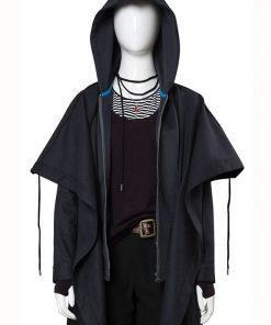 Titans Rachel Roth Black Coat