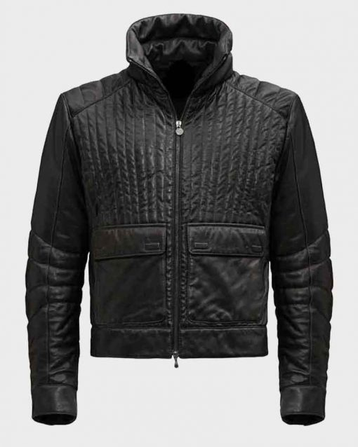 Star Wars Hayden Christensen Black Anakin Skywalker Leather Jacket