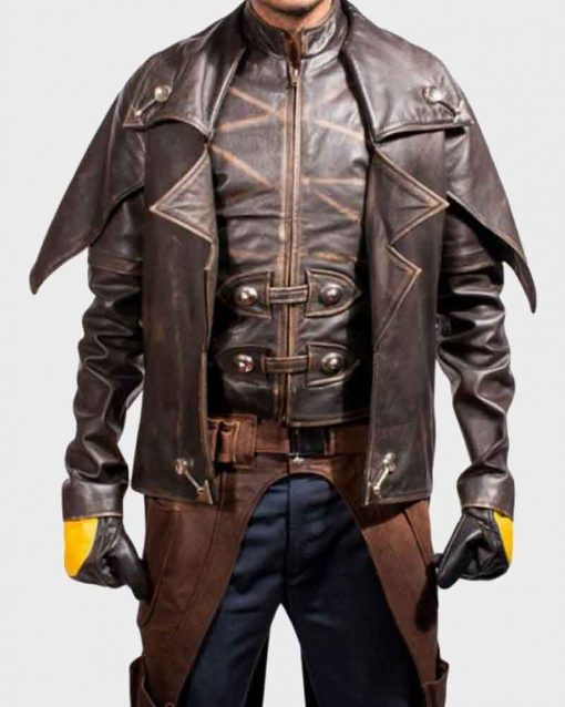 Star Wars The Clone Wars Leather Cad Bane Jacket