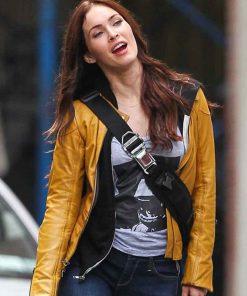 Megan Fox TMNT Leather Jacket
