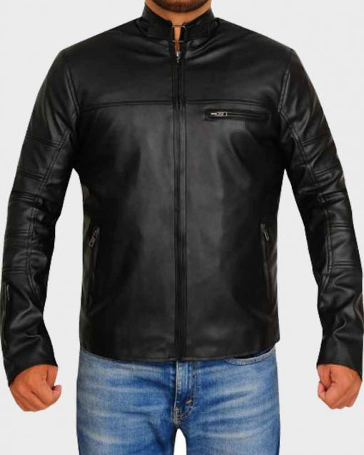 Terminator Genisys John Connor Leather Jacket