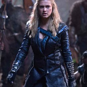 TV Series The 100 Clarke Griffin Leather Coat