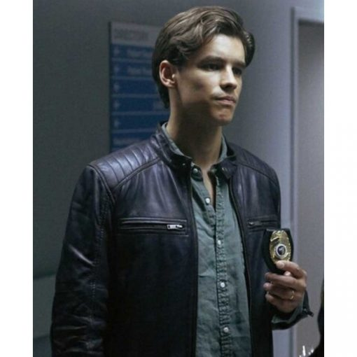 Dick Grayson Titans Black Jacket