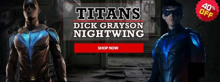 Titans Nightwing Jacket Banner