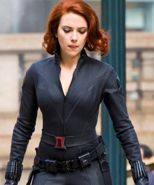 Black Widow Age of Ultron Jacket