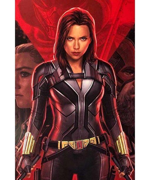 Black Widow 2021 Scarlett Johansson Jacket