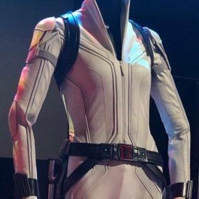 Natasha Romanoff Black Widow White Jacket