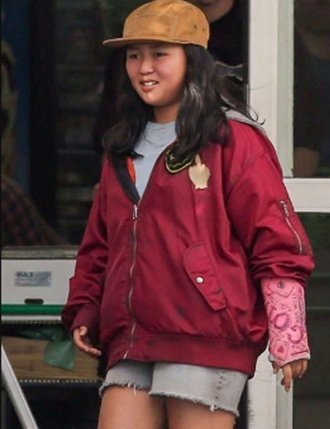 Birds Of Prey Ella Jay Basco Red Bomber Cassandra Cain Jacket