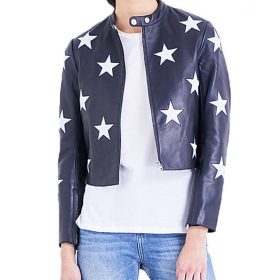 Cheryl Blossom Riverdale Star Printed Jacket