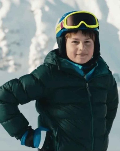 Downhill Ammon Jacob Ford Green Emerson Puffer Jacket
