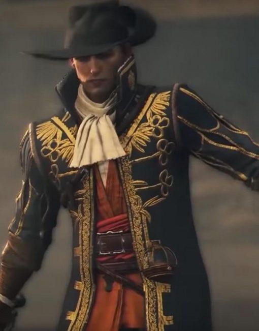 Vasco Greedfall Black Coat