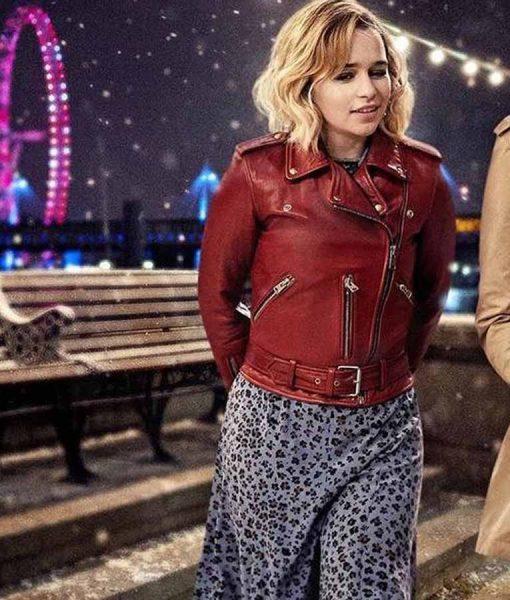 Kate Last Christmas Red Jacket