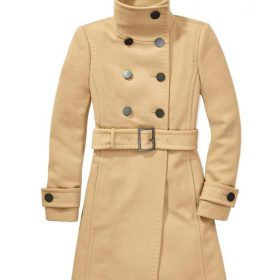 Betty Cooper Riverdale Camel Wool Coat