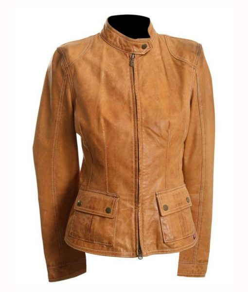 Natasha Romanoff The Avengers Brown Jacket