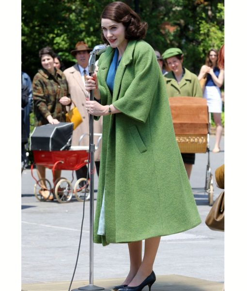 Miriam Maisel The Marvelous Mrs Maisel Green Coat