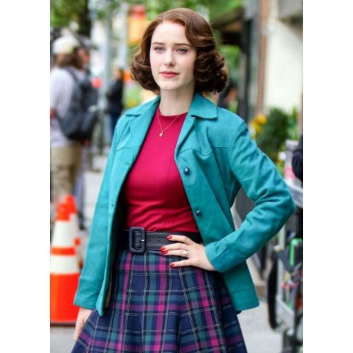 Miriam Maisel Blue Jacket