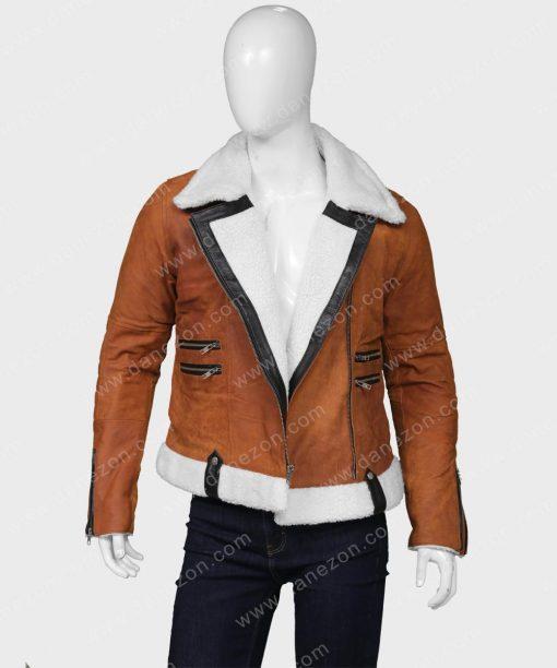 Melinda Monroe Shearling Jacket