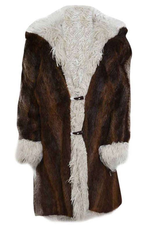 XXX Return Of Xander Cage Brown Fur Coat