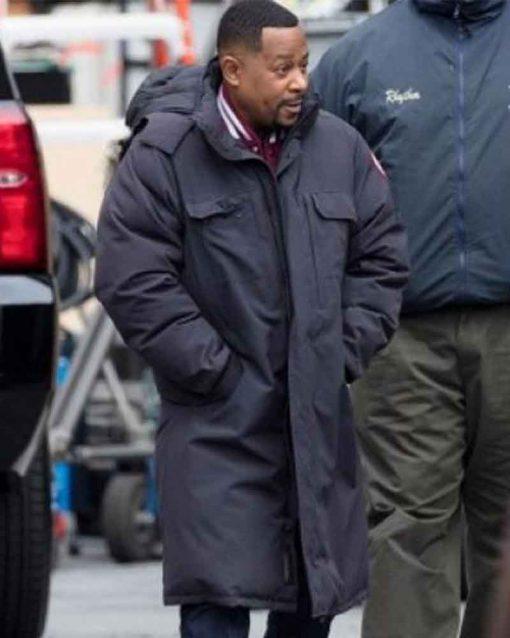 Bad Boys for Life Martin Lawrence Trench Detective Marcus Burnett Coat