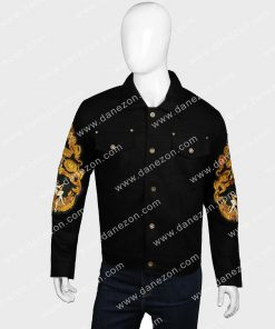 Will Smith Black Cotton Bad Boys for Life Mike Lowrey Jacket