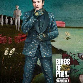 Birds Of Prey Green Black Mask Suit