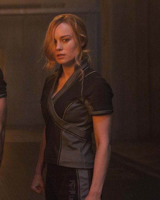 Captain Marvel Brie Larson Arena Cotton Jacket