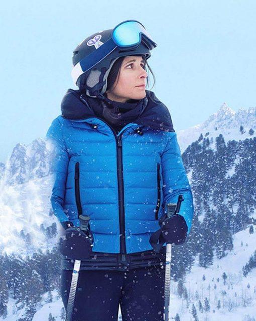 Billie Downhill Blue Puffer Jacket