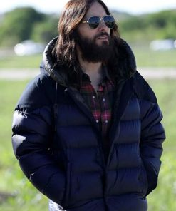 Dr. Michael Morbius Puffer Jacket with Hood