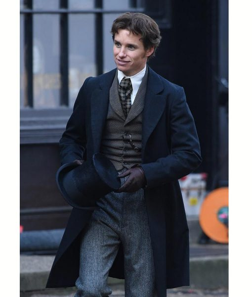 Eddie Redmayne The Aeronauts Wool Coat