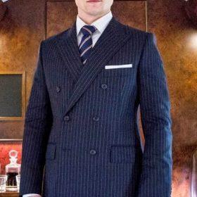 Eggsy Kingsman Taron Egerton Suit