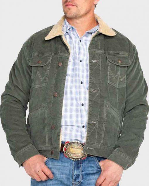Joshua Bassett High School Musical Ricky Green Sherpa Jacket