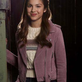 High School Musical Olivia Rodrigo Suede Leather Jacket
