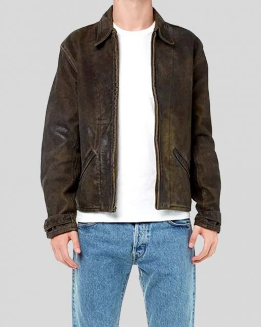 Daniel Craig Skyfall Leather Brown Jacket