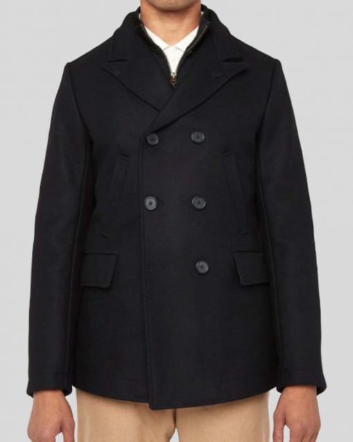 James Bond Skyfall Double Breasted Peacoat