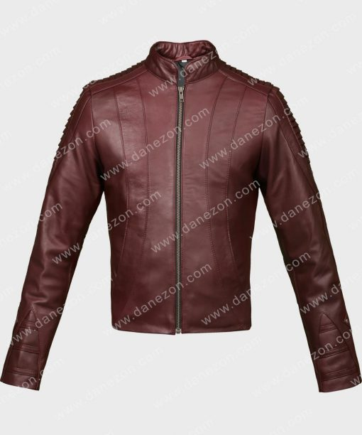 Jeri Ryan Star Trek Picard Leather Jacket