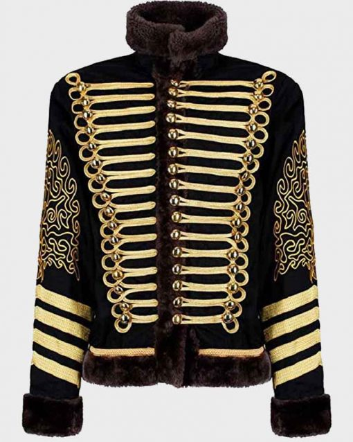 Black and Golden Parade Jimi Hendrix Hussars Jacket